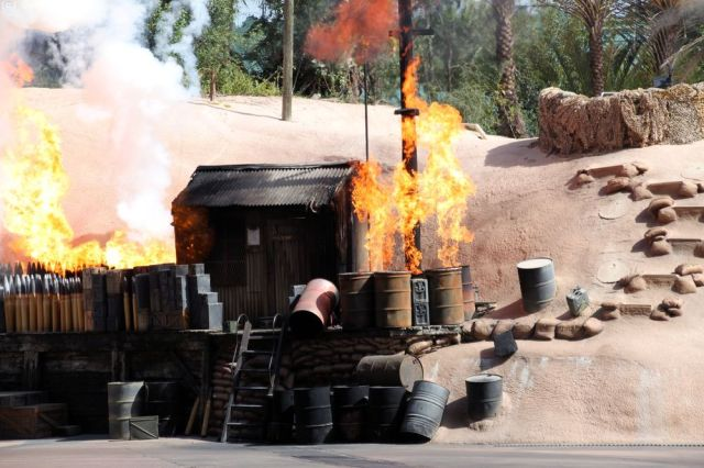 Indiana Jones Stunt Show