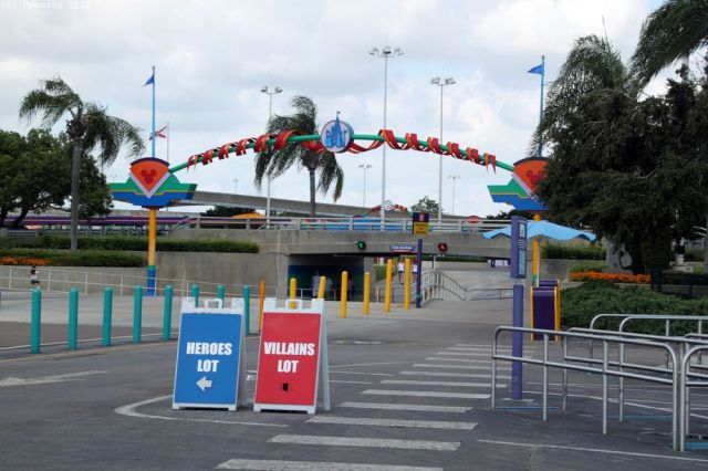 Magic Kingdom Parkplatz