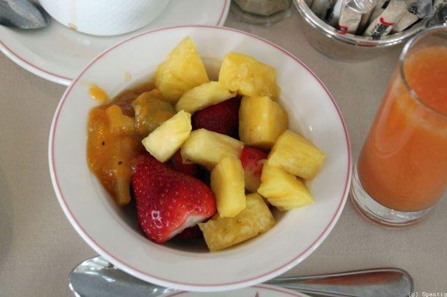 Frühstück im Castle Club
