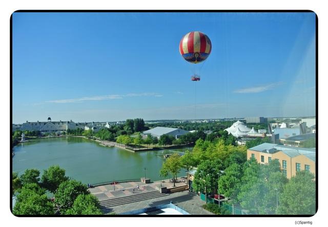 Blick aus dem Fenster vom Zimmer 8230