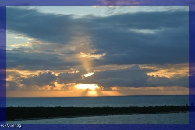 Sonnenaufgang auf Castaway Cay