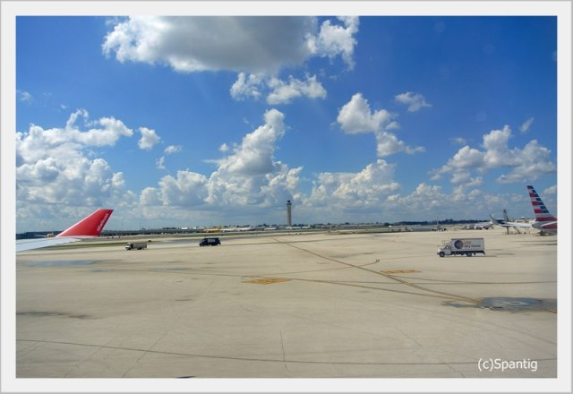 In Miami angekommen