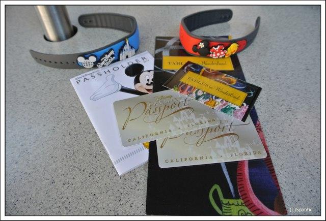 Jahreskarten für Walt Diseny World und Disneyland