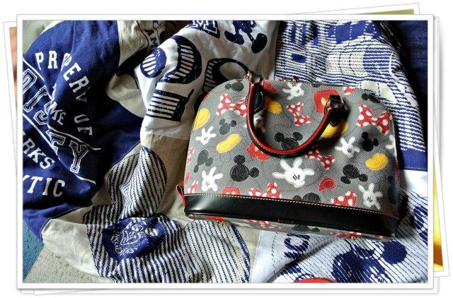 Tasche und Decke