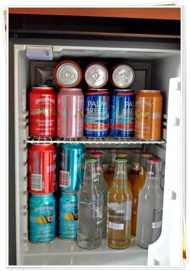 Der Kühlschrank ist voll