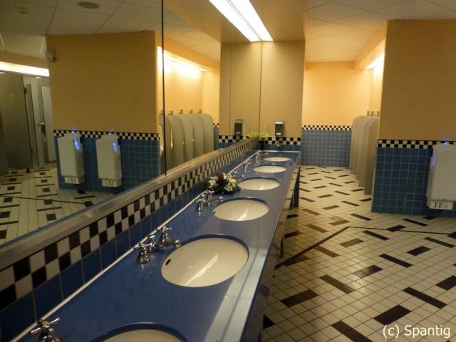 Toiletten im Hotel New York
