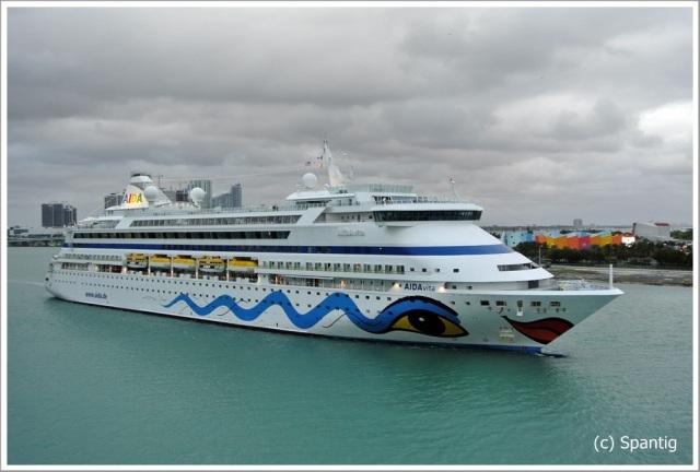 Im Hafen von Miami